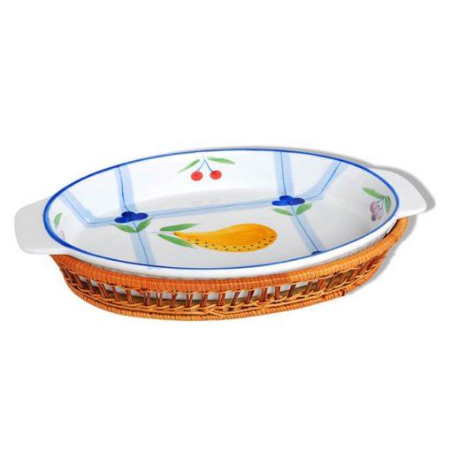 """Керамическое блюдо 14.5"""" Bayerhoff, BH-178"""