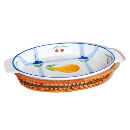 """Керамическое блюдо 12"""" Bayerhoff, BH-177"""