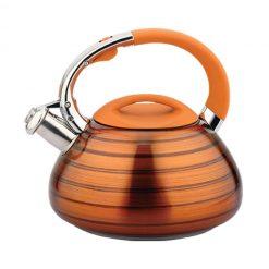 "Чайник со свистком ""Bayerhoff"", BH-422 3 л. оранжевый металлик"