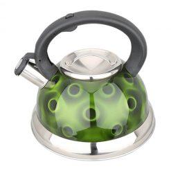 """Чайник со свистком """"Bayerhoff"""", BH-429 3 л. зелёный"""