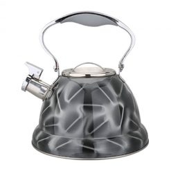 "Чайник со свистком ""Bayerhoff"", BH-435 3,2 л. серый"
