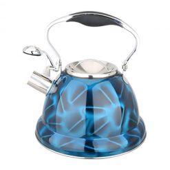 """Чайник со свистком """"Bayerhoff"""", BH-437 3,2 л. синий"""