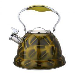 "Чайник со свистком ""Bayerhoff"", BH-438 3,2 л. жёлтый"