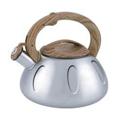 "Чайник со свистком ""Bayerhoff"", BH-440 3,0 л. металлик"