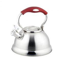 """Чайник со свистком """"Bayerhoff"""", BH-445 2,7 л. матовый металлик"""