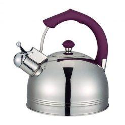 """Чайник """"Bayerhoff"""", BH-824 4 л. с фиолетовой ручкой"""