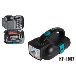 """Инструменты с фонарём """"Komfort"""", KF-1057 22 инструмета"""