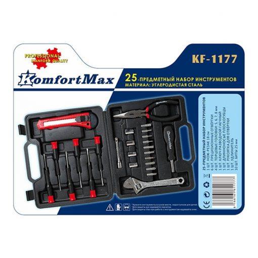 """Инструменты Набор """"KomfortMax"""", KF-1177 25 предметов"""