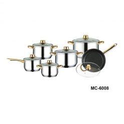 """Посуда Набор посуды """"Mercury"""", MC-6008 12 предметов"""