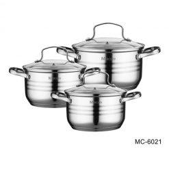 """Посуда Набор посуды """"Mercury"""", MC-6021 6 предметов"""