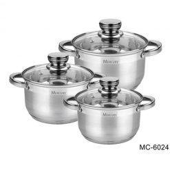 """Посуда Набор посуды """"Mercury"""", MC-6024 6 предметов"""