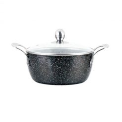 "Кастрюля с антипригарным покрытием non-stick под мрамор ""Mercury"", MC-6232 2,1 л"