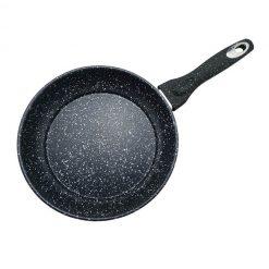 "Сковорода с антипригарным покрытием non-stick под мрамор ""Mercury"", MC-6243 28 см"