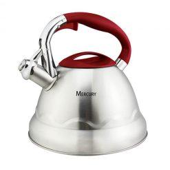 """Чайник со свистком """"Mercury"""", MC-6595 3,0 л."""