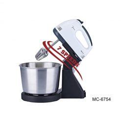 """Миксер """"Mercury"""", MC-6754 с чашей из нержавеющей стали"""