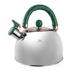 """Чайник """"Queen Ruby"""", QR-9042 3,5 л. с зелёной ручкой"""