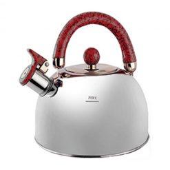 """Чайник """"Queen Ruby"""", QR-9043 3,5 л. с красной ручкой"""