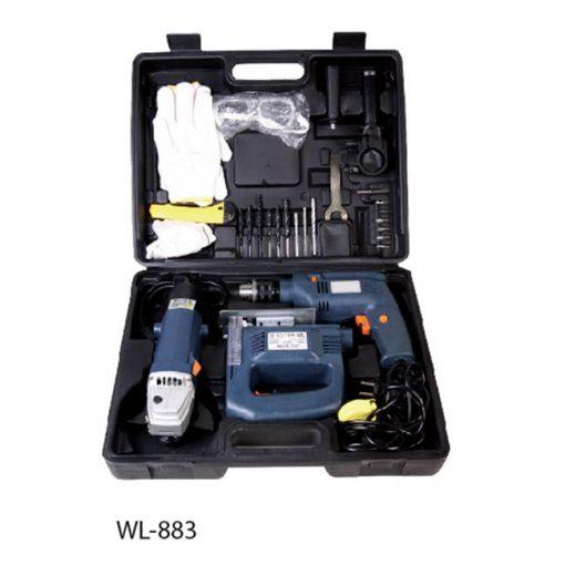 """Инструменты Дрель """"Wellerman"""", WL-883 3 предмета"""