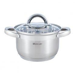 """Кастрюля с крышкой """"Mercury"""", MC-6304 6,5 л 24 см"""