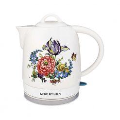 "Чайник электрический из керамики ""MercuryHaus"", MC-6742 1,7 л."