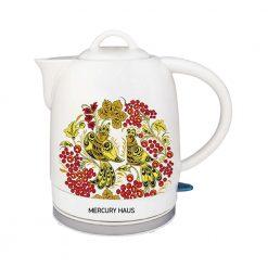 "Чайник электрический из керамики ""MercuryHaus"", MC-6743 1,7 л."